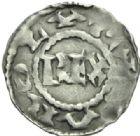 Photo numismatique  MONNAIES CAROLINGIENS CHARLES LE SIMPLE (28 janvier 893-destitué en 923)  Denier, Verdun.