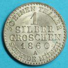 Photo numismatique  MONNAIES MONNAIES DU MONDE ALLEMAGNE PRUSSE, Frédéric-Guillaume IV (1840-1861) Gros de 1860.