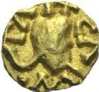 Photo numismatique  MONNAIES PEUPLES BARBARES MEROVINGIENS CITES CHARTRES (Eure-et-Loire) Tremissis.