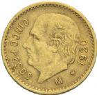 Photo numismatique  MONNAIES MONNAIES DU MONDE MEXIQUE République (depuis 1821) 5 pesos or, 1920.
