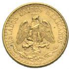 Photo numismatique  MONNAIES MONNAIES DU MONDE MEXIQUE République (depuis 1821) 2 pesos or, 1945.