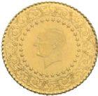 Photo numismatique  MONNAIES MONNAIES DU MONDE TURQUIE République (Depuis 1923) 25 piastres de luxe, 1969.