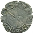 Photo numismatique  MONNAIES BARONNIALES Seigneurie de TREVOUX JEAN II de Bourbon (1456-1488) Obole de Trévoux.