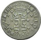 Photo numismatique  MONNAIES BARONNIALES Duché de LORRAINE LEOPOLD Ier (1690-1729) Double de trente deniers, 1726.
