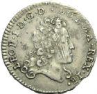 Photo numismatique  MONNAIES BARONNIALES Duché de LORRAINE LEOPOLD Ier (1690-1729) 1/2 teston, 1719.