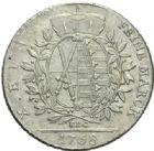 Photo numismatique  MONNAIES MONNAIES DU MONDE ALLEMAGNE SAXE, Frédéric-Auguste III électeur (1763-1806)  Thaler de Dresde 1768.