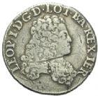Photo numismatique  MONNAIES BARONNIALES Duché de LORRAINE LEOPOLD Ier (1690-1729) 1/2 teston, 1705.