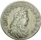 Photo numismatique  MONNAIES BARONNIALES Duché de LORRAINE LEOPOLD Ier (1690-1729) Teston, 1702 sur (1701).