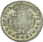 Photo numismatique  MONNAIES BARONNIALES Duché de LORRAINE LEOPOLD Ier (1690-1729) 1/2 teston, 1702.