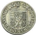 Photo numismatique  MONNAIES BARONNIALES Duché de LORRAINE CHARLES IV Réintégré (1661-1670) 1/2 teston du 2ème règne, Nancy 1665.