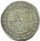 Photo numismatique  MONNAIES BARONNIALES Duché de LORRAINE CHARLES IV (1626-1634) Teston, Remiremont 1638.