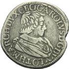 Photo numismatique  MONNAIES BARONNIALES Duché de LORRAINE CHARLES IV (1626-1634) Teston du 1er règne, Badonvillers 1627.