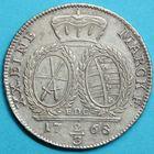 Photo numismatique  MONNAIES MONNAIES DU MONDE ALLEMAGNE SAXE, Frédéric-Auguste III électeur (1763-1806) Deux-tiers de Thaler de Dresde 1768.