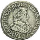 Photo numismatique  MONNAIES BARONNIALES Duché de LORRAINE CHARLES IV (1626-1634) Teston du 1er règne, Nancy 1627.