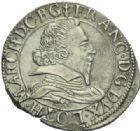 Photo numismatique  MONNAIES BARONNIALES Duché de LORRAINE FRANCOIS II (1597-1632) Teston, Badonvillers 1629.