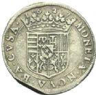 Photo numismatique  MONNAIES BARONNIALES Duché de LORRAINE FRANCOIS II (1597-1632) Teston, Badonvillers 1627.