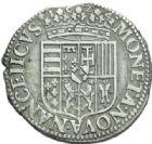 Photo numismatique  MONNAIES BARONNIALES Duché de LORRAINE CHARLES et NICOLE (1624-1625) Teston, Nancy 1624.