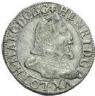 Photo numismatique  MONNAIES BARONNIALES Duché de LORRAINE HENRI II (1608-1624) Teston, Nancy sans date.