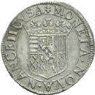 Photo numismatique  MONNAIES BARONNIALES Duché de LORRAINE HENRI II (1608-1624) Teston, Nancy sans date.