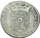 Photo numismatique  MONNAIES BARONNIALES Duché de LORRAINE HENRI II (1608-1624) Teston, Nancy 1615.