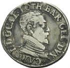 Photo numismatique  MONNAIES BARONNIALES Duché de LORRAINE CHARLES III (1545-1608) Teston, Nancy 1587.