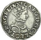 Photo numismatique  MONNAIES BARONNIALES Duché de LORRAINE CHARLES III (1545-1608) Teston, Nancy sans date.