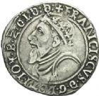 Photo numismatique  MONNAIES BARONNIALES Duché de LORRAINE FRANCOIS Ier (1544-1545) Teston, Nancy 1545.