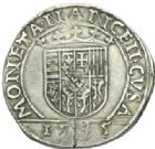 Photo numismatique  MONNAIES BARONNIALES Duché de LORRAINE FRANCOIS Ier (1544-1545) Teston, Nancy 1545.