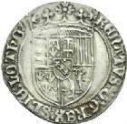 Photo numismatique  MONNAIES BARONNIALES Duché de LORRAINE RENE II (1473-1508) Double gros, Nancy.