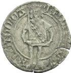 Photo numismatique  MONNAIES BARONNIALES Duché de LORRAINE RENE II (1473-1508) Gros, avant 1481.