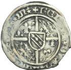 Photo numismatique  MONNAIES BARONNIALES Duché de LORRAINE RENE Ier (1419-1480) 1/2 gros, Saint-Mihiel.