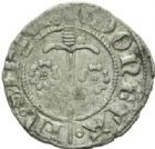 Photo numismatique  MONNAIES BARONNIALES Duché de LORRAINE JEAN Ier (1346-1389) Double denier, Sierck.