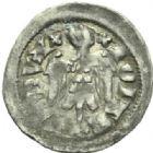 Photo numismatique  MONNAIES BARONNIALES Duché de LORRAINE JEAN Ier (1346-1389) Denier, Sierck.