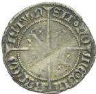 Photo numismatique  MONNAIES BARONNIALES Duché de LORRAINE CHARLES II (1390-1431) 1/4 de gros.