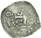 Photo numismatique  MONNAIES BARONNIALES Evêché de METZ ADALBERON III de Luxembourg (1047-1072) Denier au nom de l'empereur Otton III (996-1002).