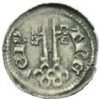 Photo numismatique  MONNAIES MONNAIES DU MONDE ALLEMAGNE TRÈVES, archevêché, Baudouin de Luxembourg (1307-1354) Double pfennig.