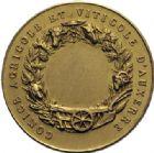 Photo numismatique  ARCHIVES VENTE 2014 -Coll J P Dixméras MÉDAILLES ET JETONS DEPUIS LA RESTAURATION AUXERRE 1714- Jeton du Comité agricole et viticole d'Auxerre.
