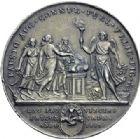 Photo numismatique  ARCHIVES VENTE 2014 -Coll J P Dixméras MÉDAILLES ET JETONS DEPUIS LA RESTAURATION ESPAGNE 1712- Ferdinand VII, roi (1808 et 1814-1833). Mariage avec Marie Amélie Josépha de Saxe, 1819.