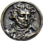 Photo numismatique  ARCHIVES VENTE 2014 -Coll J P Dixméras MÉDAILLES ET JETONS DEPUIS LA RESTAURATION DAVID D'ANGERS 1710- Général Jean Baptiste Kléber.