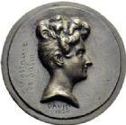 Photo numismatique  ARCHIVES VENTE 2014 -Coll J P Dixméras MÉDAILLES ET JETONS DEPUIS LA RESTAURATION DAVID D'ANGERS 1709- Princesse de Salm-Dick.