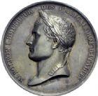 Photo numismatique  ARCHIVES VENTE 2014 -Coll J P Dixméras MÉDAILLES ET JETONS NAPOLEON Ier EMPEREUR (18 mai 1804-6 avril 1814 - 1815)  1701- Médaille attribuée à Damoiseau, vétérinaire au Haras impérial du Pin, 1810.