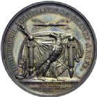 Photo numismatique  ARCHIVES VENTE 2014 -Coll J P Dixméras MÉDAILLES ET JETONS NAPOLEON Ier EMPEREUR (18 mai 1804-6 avril 1814 - 1815)  1696- Levée du camp de Boulogne et passage du Rhin, 24 août 1805.