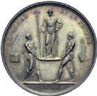 Photo numismatique  ARCHIVES VENTE 2014 -Coll J P Dixméras MÉDAILLES ET JETONS NAPOLEON Ier EMPEREUR (18 mai 1804-6 avril 1814 - 1815)  1695- Couronnement  et sacre de l'Empereur, 1804.