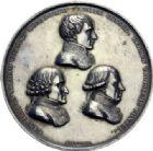 Photo numismatique  ARCHIVES VENTE 2014 -Coll J P Dixméras MÉDAILLES ET JETONS LE CONSULAT (9 novembre 1799- 18 mai 1804)  1690 - Promulgation du Traité d'Amiens, 20 mai 1802.