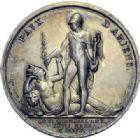 Photo numismatique  ARCHIVES VENTE 2014 -Coll J P Dixméras MÉDAILLES ET JETONS LE CONSULAT (9 novembre 1799- 18 mai 1804)  1688- Paix d'Amiens, 27 mars 1802.