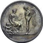 Photo numismatique  ARCHIVES VENTE 2014 -Coll J P Dixméras MÉDAILLES ET JETONS LE CONSULAT (9 novembre 1799- 18 mai 1804)  1687- Constitution de la République Italienne à Lyon, 1802.
