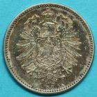 Photo numismatique  MONNAIES MONNAIES DU MONDE ALLEMAGNE EMPIRE ALLEMAND (après 1871) Mark de 1875.