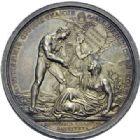 Photo numismatique  ARCHIVES VENTE 2014 -Coll J P Dixméras MÉDAILLES ET JETONS LE CONSULAT (9 novembre 1799- 18 mai 1804)  1686- Bataille de Marengo, 14 juin 1800 (an VIII).