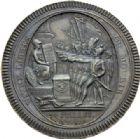 Photo numismatique  ARCHIVES VENTE 2014 -Coll J P Dixméras MÉDAILLES ET JETONS LOUIS XVI (1774-1793) et RÉVOLUTION FRANÇAISE MONNAIES DE PARTICULIERS, ESSAI MONÉTAIRE, INSIGNES 1676- 5 sols des frères Monneron, 1792.
