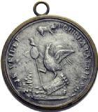 Photo numismatique  ARCHIVES VENTE 2014 -Coll J P Dixméras MÉDAILLES ET JETONS LOUIS XVI (1774-1793) et RÉVOLUTION FRANÇAISE MEDAILLES DE PALLOY 1668- Le Coq républicain.